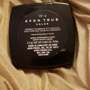 Avon Makeup - AVON perfect eyebrow styling duo in deep brown